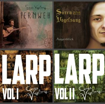 Sören Vogelsang - Bundle: Alle vier Alben (Augenblick, Fernweh, LARP Vol. I, LARP Vol. II) [MP3]